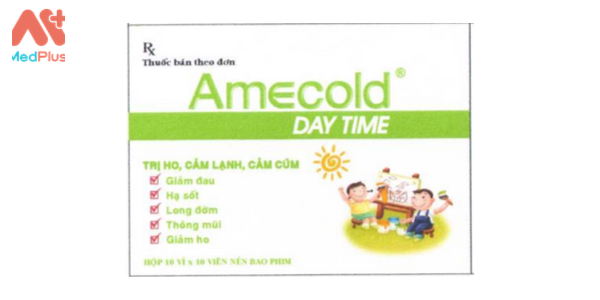 Thuốc Amecold day time