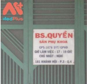 Phòng khám Sản phụ khoa – BS. Phan Văn Quyền