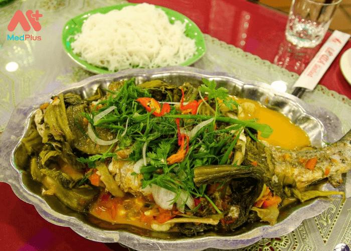 Cá chép nấu nghệ