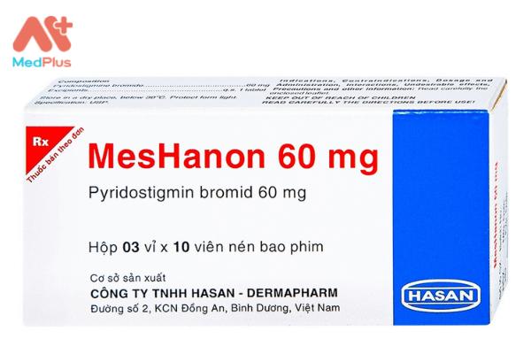 Hình ảnh tham khảo về thuốc MesHanon 60mg