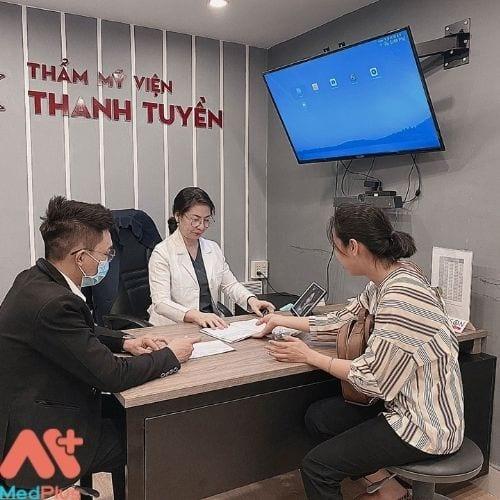 Tư vấn dịch vụ tại Thẩm mỹ viện Thanh Tuyền