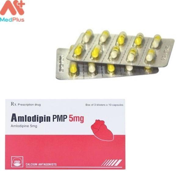 Hình ảnh minh họa cho thuốc Amlidipin PMP 5mg